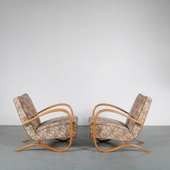 Jindrich Halabala Pair of Jindrich Halabala H 269 Chairs for Up Zadovy from Czech 1930 - 1361522