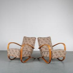 Jindrich Halabala Pair of Jindrich Halabala H 269 Chairs for Up Zadovy from Czech 1930 - 1361524