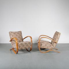 Jindrich Halabala Pair of Jindrich Halabala H 269 Chairs for Up Zadovy from Czech 1930 - 1361525