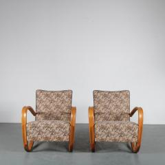 Jindrich Halabala Pair of Jindrich Halabala H 269 Chairs for Up Zadovy from Czech 1930 - 1361526
