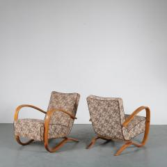 Jindrich Halabala Pair of Jindrich Halabala H 269 Chairs for Up Zadovy from Czech 1930 - 1361527