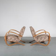 Jindrich Halabala Pair of Jindrich Halabala H 269 Chairs for Up Zadovy from Czech 1930 - 1361528
