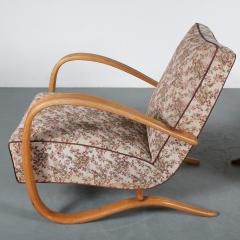 Jindrich Halabala Pair of Jindrich Halabala H 269 Chairs for Up Zadovy from Czech 1930 - 1361529