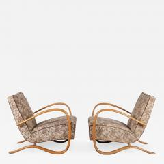 Jindrich Halabala Pair of Jindrich Halabala H 269 Chairs for Up Zadovy from Czech 1930 - 1362690