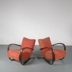 Jindrich Halabala Pair of Jindrich Halabala H 269 Chairs for Up Zavody 1930 - 1390592