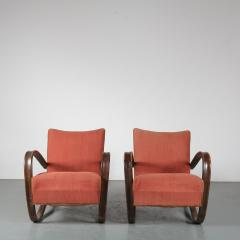 Jindrich Halabala Pair of Jindrich Halabala H 269 Chairs for Up Zavody 1930 - 1390593