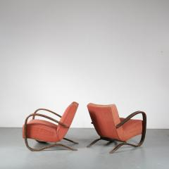 Jindrich Halabala Pair of Jindrich Halabala H 269 Chairs for Up Zavody 1930 - 1390595