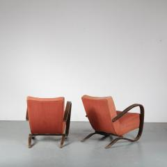 Jindrich Halabala Pair of Jindrich Halabala H 269 Chairs for Up Zavody 1930 - 1390596