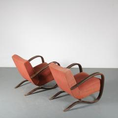 Jindrich Halabala Pair of Jindrich Halabala H 269 Chairs for Up Zavody 1930 - 1390597