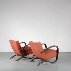 Jindrich Halabala Pair of Jindrich Halabala H 269 Chairs for Up Zavody 1930 - 1390598