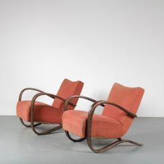 Jindrich Halabala Pair of Jindrich Halabala H 269 Chairs for Up Zavody 1930 - 1390599