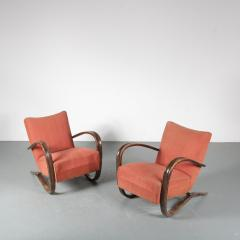 Jindrich Halabala Pair of Jindrich Halabala H 269 Chairs for Up Zavody 1930 - 1390601