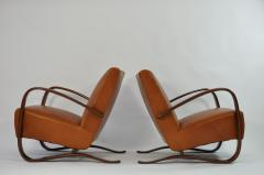 Jindrich Halabala Pair of Jindrich Halabala Lounge Chairs - 120474