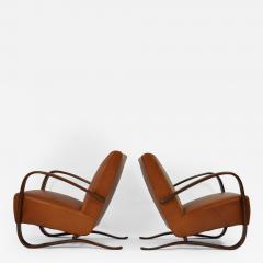 Jindrich Halabala Pair of Jindrich Halabala Lounge Chairs - 121534