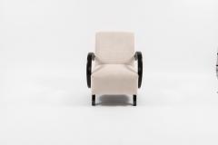 Jindrich Halabala Pair of Jindrich Halabala Lounge Chairs 1930s - 675798