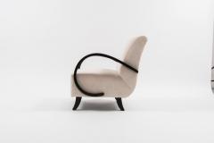 Jindrich Halabala Pair of Jindrich Halabala Lounge Chairs 1930s - 675799