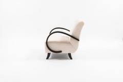 Jindrich Halabala Pair of Jindrich Halabala Lounge Chairs 1930s - 675800