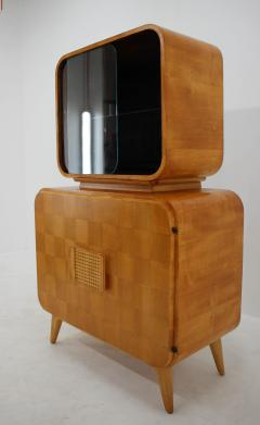 Jindrich Halabala Rare Display Case by Jindrich Halabala for Up Zavody 1940s - 2038176