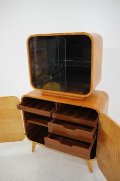 Jindrich Halabala Rare Display Case by Jindrich Halabala for Up Zavody 1940s - 2038178