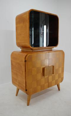 Jindrich Halabala Rare Display Case by Jindrich Halabala for Up Zavody 1940s - 2038184