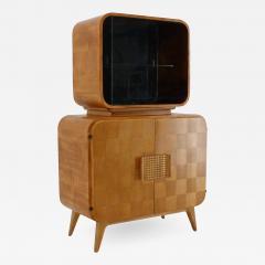 Jindrich Halabala Rare Display Case by Jindrich Halabala for Up Zavody 1940s - 2038751
