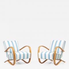 Jindrich Halabala Set of H269 Armchairs by Jindrich Halabala Czech Republic - 2139842