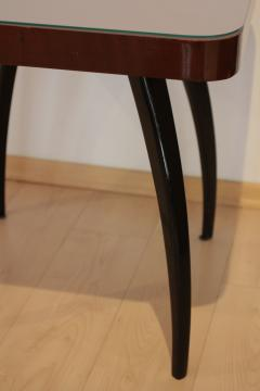 Jindrich Halabala Side Table by J Halabala Mahogany Veneer Czech Republic circa 1930 - 1078315