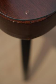 Jindrich Halabala Side Table by J Halabala Mahogany Veneer Czech Republic circa 1930 - 1078316