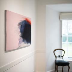 Jo Barker Fleeting Glimpse contemporary abstract tapestry by Jo Barker - 1627038