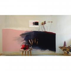 Jo Barker Fleeting Glimpse contemporary abstract tapestry by Jo Barker - 1627041