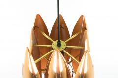 Jo Hammerborg Copper Kastor pendant by Jo Hammerborg for Fog M rup 1960s - 697141
