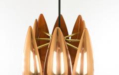 Jo Hammerborg Copper Kastor pendant by Jo Hammerborg for Fog M rup 1960s - 697143