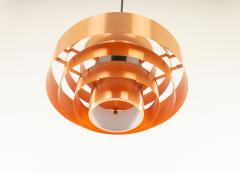Jo Hammerborg Copper Ultra pendant by Jo Hammerborg for Fog M rup 1960s - 1128282