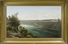 Joachim Ferdinand Richardt Suspension Bridge over the Niagara River - 924580