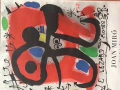 Joan Mir Le Lezard a Plumes dOr Poster by Joan Miro - 1634264