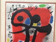 Joan Mir Le Lezard a Plumes dOr Poster by Joan Miro - 1634266