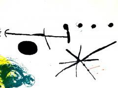 Joan Miro Joan Miro Abstract Composition Original Lithograph 1964 - 1077714