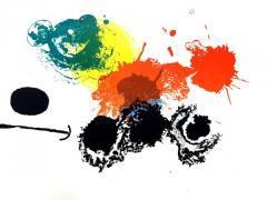 Joan Miro Joan Miro Abstract Composition Original Lithograph 1964 - 1077715