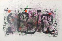 Joan Miro Joan Miro Lithograph Ma de Proverbis Signed and Numbered 18 100 - 526011