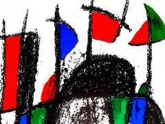 Joan Miro Joan Miro Original Abstract Lithograph 1975 - 1077699