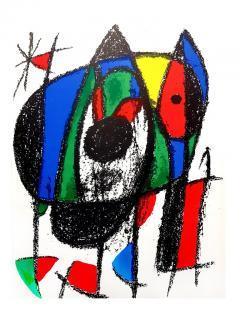 Joan Miro Joan Miro Original Abstract Lithograph 1975 - 1077700