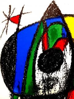 Joan Miro Joan Miro Original Abstract Lithograph 1975 - 1077703