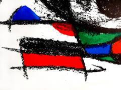 Joan Miro Joan Miro Original Abstract Lithograph 1975 - 1077704