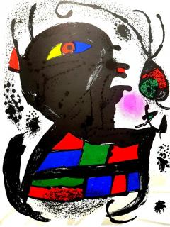 Joan Miro Joan Miro Original Abstract Lithograph 1976 - 1077686