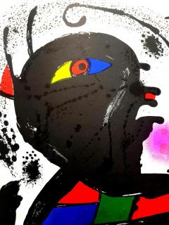 Joan Miro Joan Miro Original Abstract Lithograph 1976 - 1077687