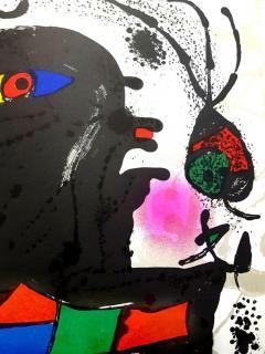Joan Miro Joan Miro Original Abstract Lithograph 1976 - 1077688