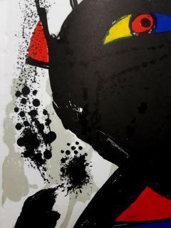 Joan Miro Joan Miro Original Abstract Lithograph 1976 - 1077691