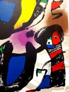 Joan Miro Joan Miro Original Abstract Lithograph 1981 - 1077587