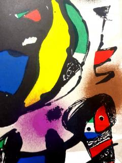 Joan Miro Joan Miro Original Abstract Lithograph 1981 - 1077588