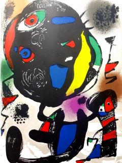 Joan Miro Joan Miro Original Abstract Lithograph 1981 - 1077590